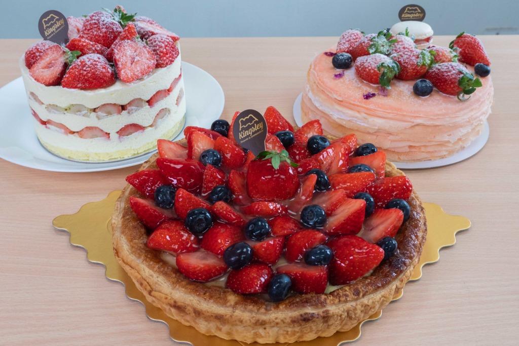 山下菓子新推日本士多啤梨蛋糕系列