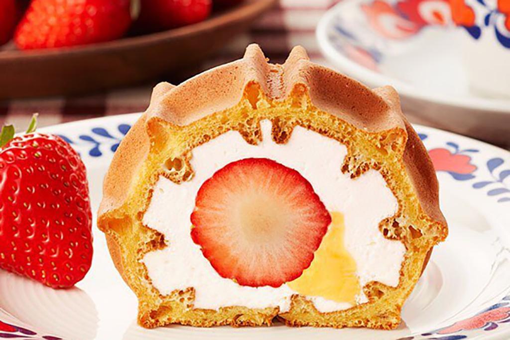 【日本手信2020】日本草莓甜品系列限定登場 士多啤梨雪糕格仔餅/窩夫卷