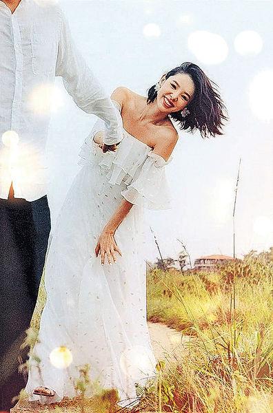譚凱琪與男友入紙結婚