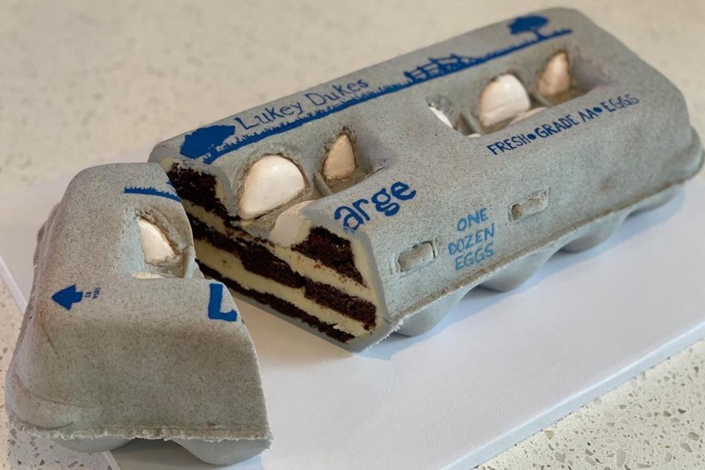美國蛋糕藝術家製作超像真蛋糕