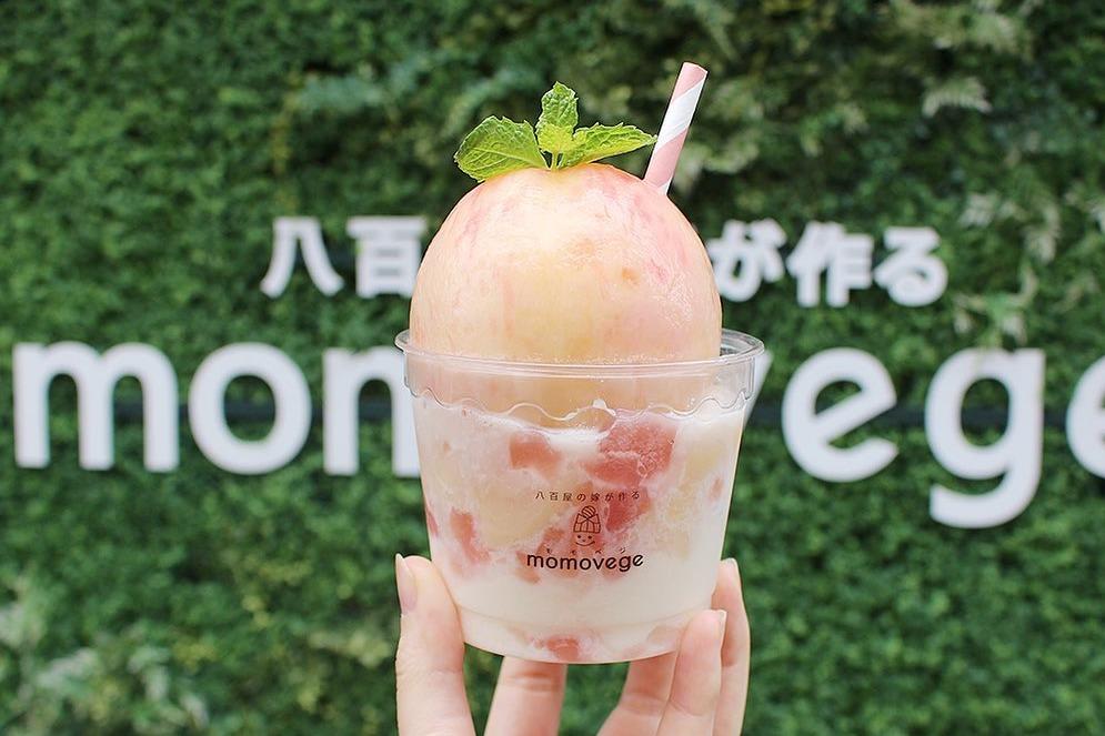 【日本甜品】大阪人氣甜品店「momovege」 原個水蜜桃/多款超足料水果芭菲