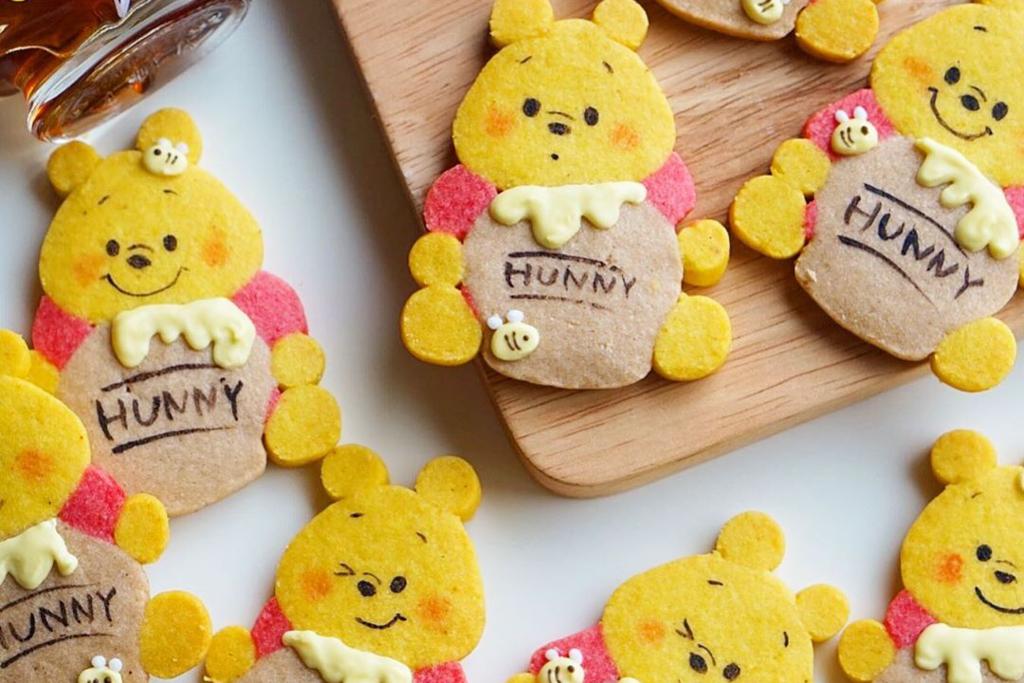 【日本甜品】日本可愛自家製卡通曲奇 小熊維尼/勞蘇抱抱熊/Snoopy/Miffy