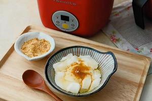【甜品食譜】電飯煲簡易甜品食譜   自製香滑豆腐花