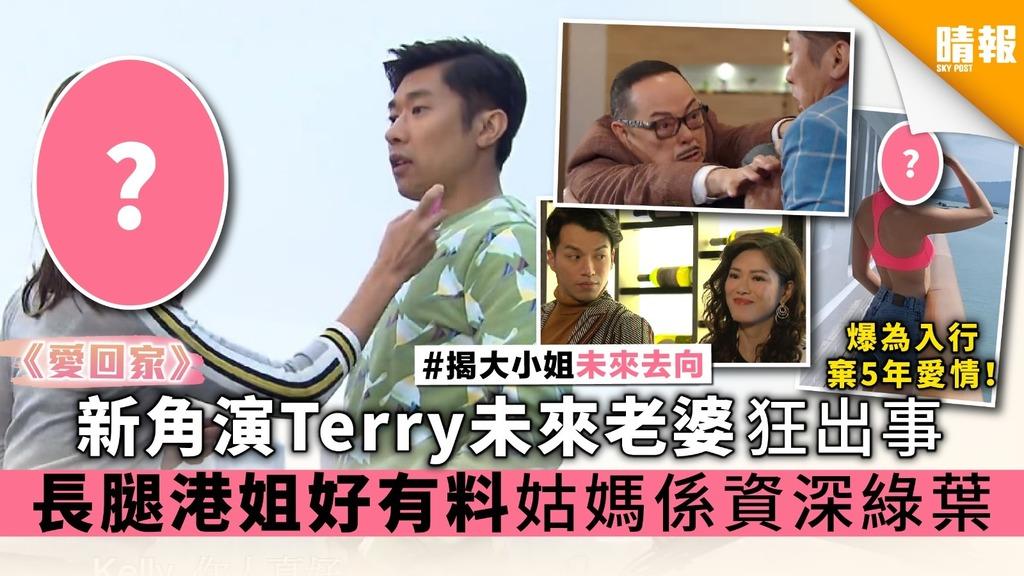 《愛回家》新角演Terry未來老婆狂出事 長腿香港小姐好有料 姑媽係資深綠葉