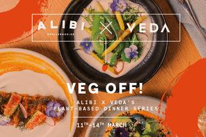 【中環素食】中環素食酒吧VEDA聯乘悉尼餐廳Alibi 一連4晚popup晚宴歎名廚素食
