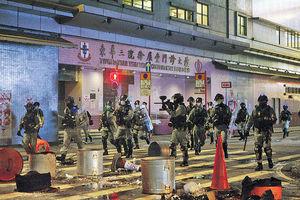 8.31半周年爆衝突 115人被捕 1便衣警遇襲曾擎槍