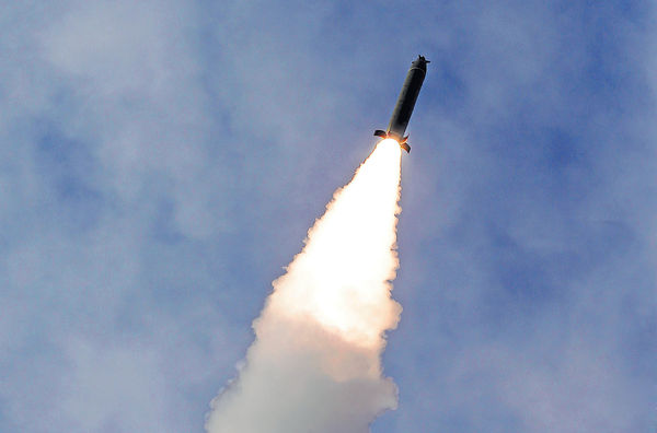 疑測試實戰新武器 北韓發射3枚飛行物