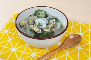 【滾湯食譜】簡單2種材料就輕鬆完成!鮮甜絲瓜蜆湯