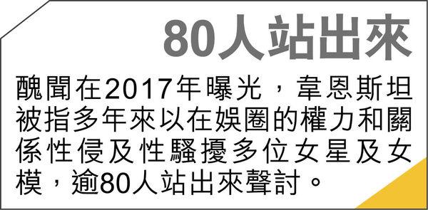 荷里活淫魔監製性侵女星 #MeToo點火人重囚23年