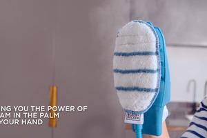 【武漢肺炎】一次有15大功能!殺死99.9%細菌/不用化學清潔劑  美國蒸氣手套清潔套裝