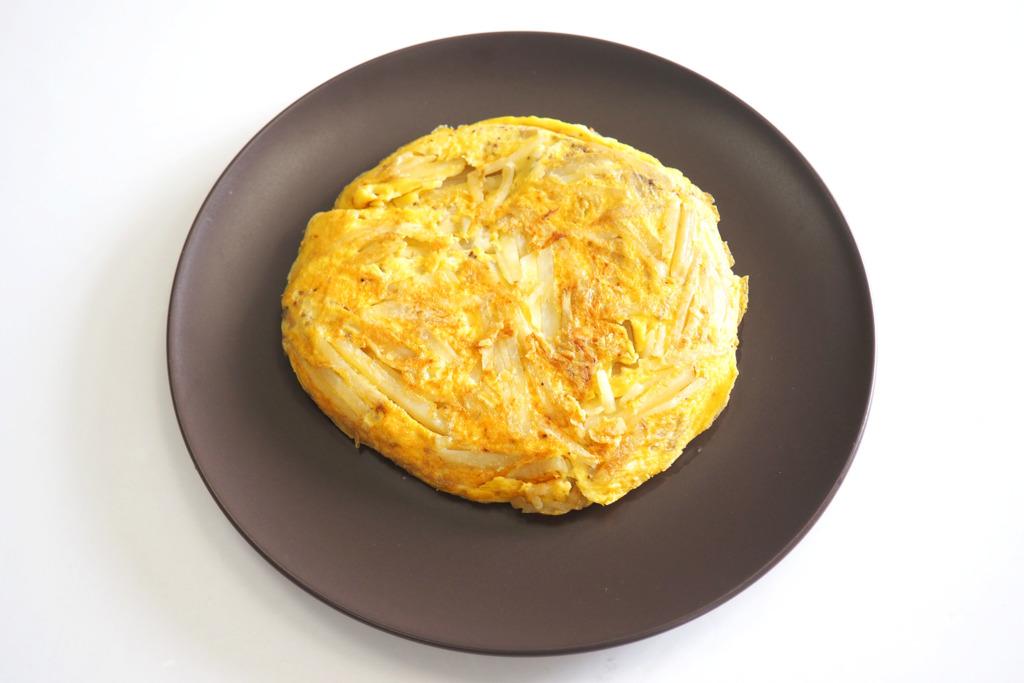 【中式食譜】只需2種材料!零難度新手食譜 香脆薯仔煎蛋餅