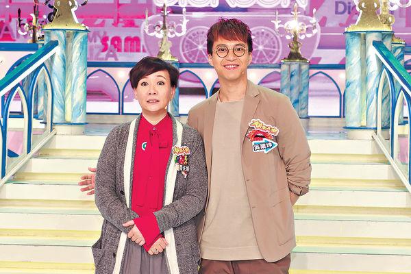 新劇合演兩母子 坤哥口花花撩娥姐