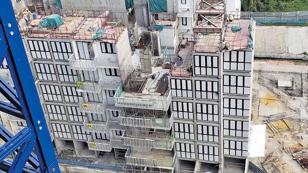 新加坡的模塊化建築和組屋
