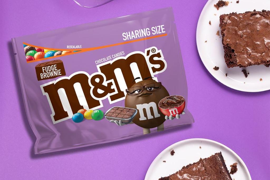 【M&M 布朗尼】朱古力Brownies味M&M's新登場 朱古力脆皮+布朗尼蛋糕餡