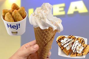 【IKEA雪糕】IKEA美食站人氣口味豆腐花新地筒回歸!期間限定棉花糖焗窩夫/菠菜芝士薯餅同步登場
