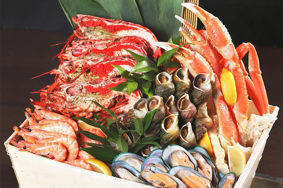 品味海鮮精萃自助餐 8度餐廳