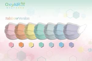 【買口罩】本地口罩廠OxyAIR Mask HK宣佈購入新一批原材料!6月將推出彩虹特別版口罩