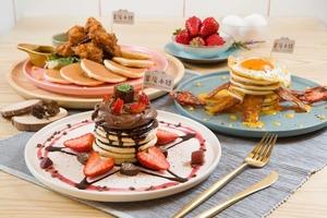 【甜品外賣】日式甜品店蜜庵本膳新推出外賣MENU!$88起多款鹹甜PANCAKE打包回家/外賣自取85折優惠
