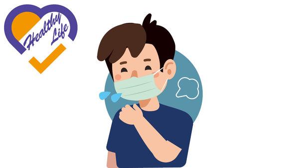 長戴口罩 引發氣管敏感