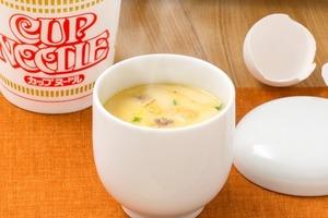 【合味道杯麵】日清官方網站公開杯麵另類食法!加蛋叮3分鐘極速製作美味茶碗蒸