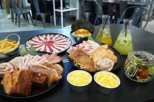 【旺角美食】朗豪坊燒肉店Lab 10推出午市放題優惠!$88任食韓式五花腩/甜辣雞翼/薯條