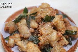 【台式小食】簡單4步自製台式經典街頭小食   惹味脆卜卜鹽酥雞