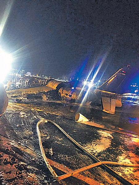 菲律賓衞生部包機 馬尼拉墜毀釀8死