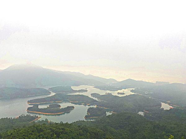 迷霧千島湖