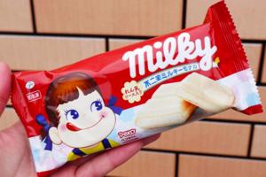 【日本便利店雪糕】日本不二家牛奶妹甜品系列 牛奶妹煉奶雪糕批/年輪蛋糕