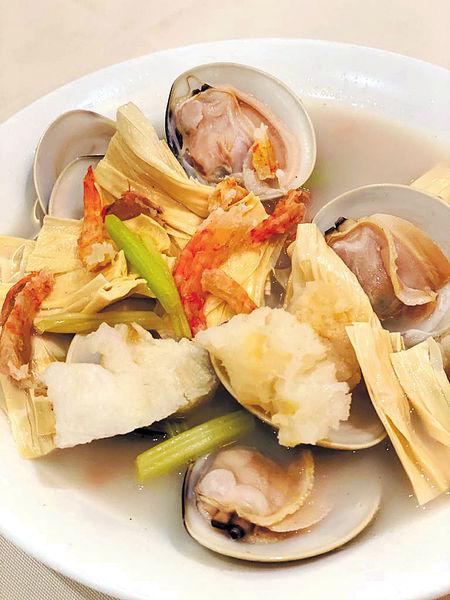洩了氣的皮球#魚肚蝦乾煮白蜆
