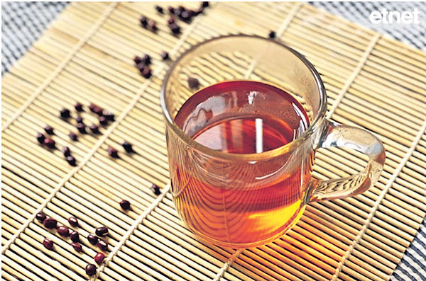 養血安神︰紅豆生薑茶