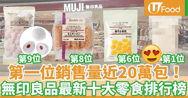 【MUJI 零食】MUJI無印良品最新十大零食推介  人氣柚子柑橘糖只排第6?