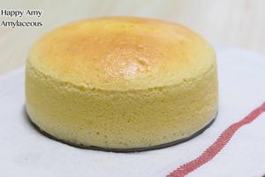 【蛋糕食譜】簡單4步自製鬆軟蛋糕食譜    日式輕芝士蛋糕