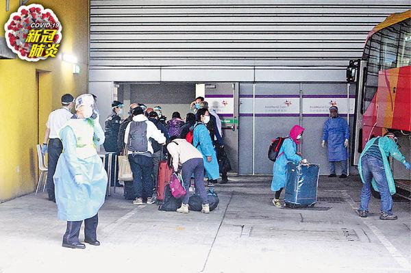 65滯秘魯港人抵港 強制檢測 陰性才放行隔離 擬覆蓋所有入境者