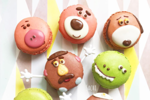 【日本甜品】日本媽媽愛心卡通料理甜品 Toy Story三眼仔/布甸狗/小熊維尼造型超可愛!