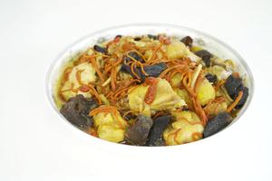 【中式食譜】增強抵抗力!滋補簡易家常菜   蟲草花雲耳杞子蒸雞