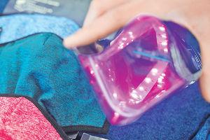 「星之子」研光觸媒口罩 可重用50次