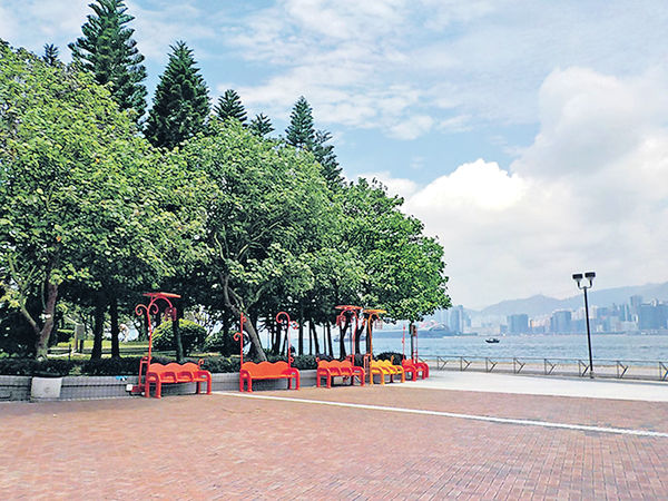 海濱公園散步 慢活度周末