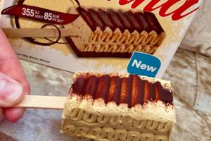【Viennetta 雪糕】Viennetta千層雪糕新推出迷你雪條 海鹽焦糖味千層雪糕條