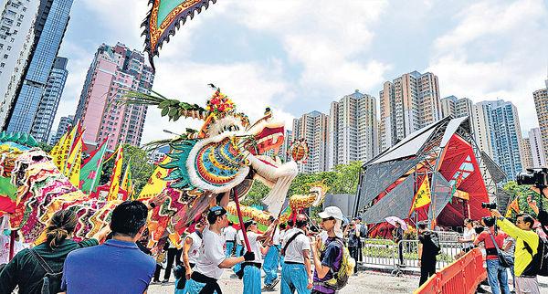 具傳統文化元素的建築︰東區文化廣場