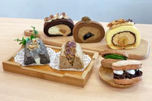 【卷蛋 香港】誠意甜品網店自家製卷蛋+戚風蛋糕 Tiramisu/抹茶麻糬/焙茶黑糖蕨餅/伯爵茶味