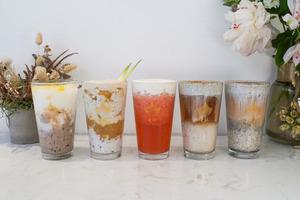 【旺角美食】旺角茶飲店「走杯Cupfy」新推出植物奶飲品 首創黑芝麻奶蓋/超濃椰子奶