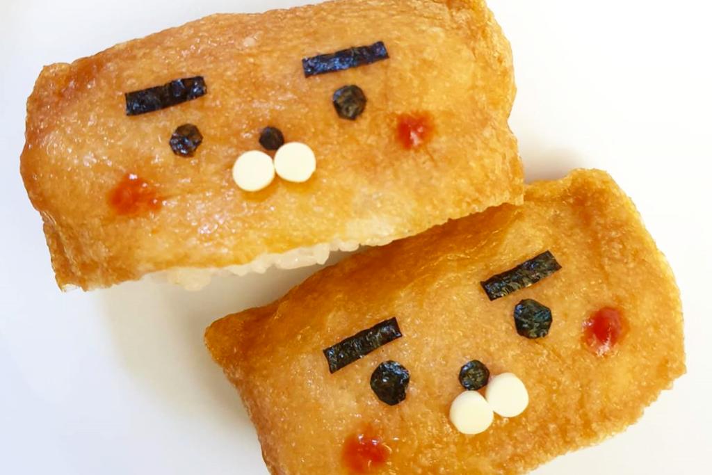 【野餐食譜簡單】大熱韓國KAKAO FRIENDS卡通便當 簡單自家製可愛Ryan腐皮壽司