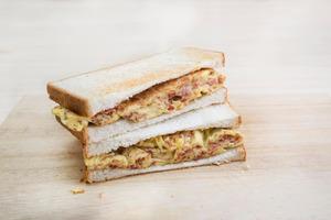 【三文治食譜】簡易3步自製茶餐廳經典美食 香脆鹹牛肉蛋治
