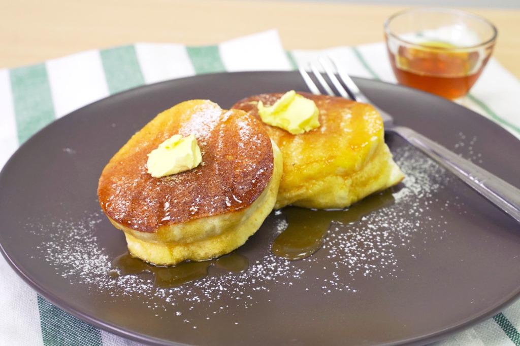 【梳乎厘班戟做法】4步零失敗自製超鬆軟甜品  日式梳乎厘班戟食譜