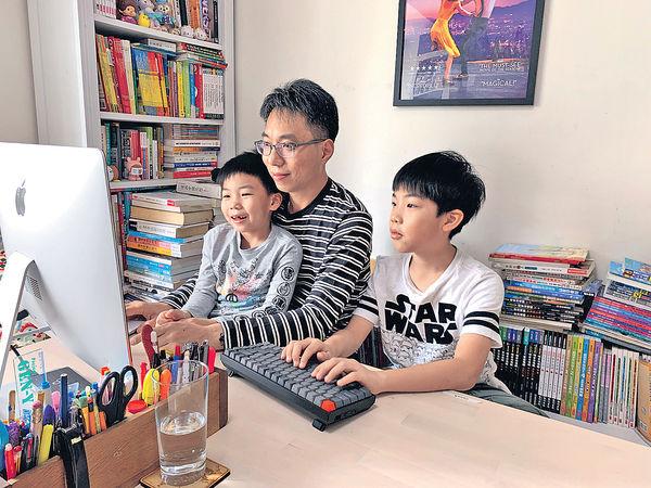 社工爸爸搜羅數理Apps 孩子在家輕鬆自學