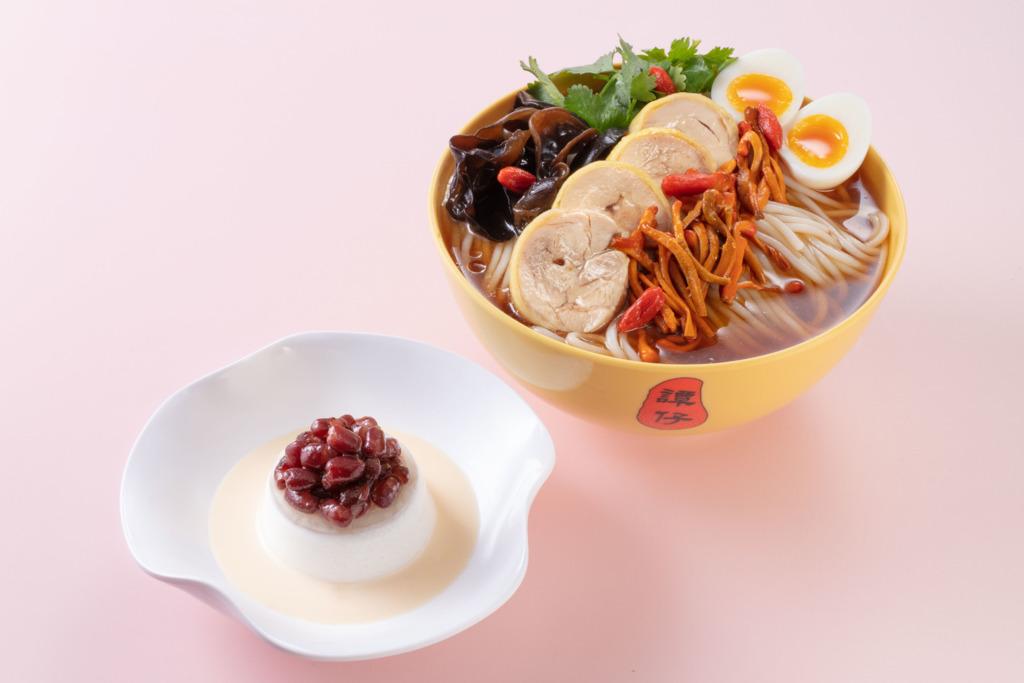 【母親節2020】譚仔雲南米線推出2020年母親節期間限定美食  蟲草花雞湯米線/紅豆椰汁糕