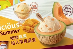 【便利店新品】Häagen-Dazs推夏日哈密瓜/芒果雪糕迷你杯 日本直送雪糕三文治同步登場