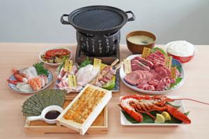 【外賣自取優惠2020】$228燒肉刺身外賣套餐 原板海膽/和牛/龍蝦/串燒