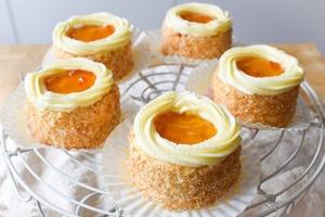 【蛋糕食譜】自家製懷舊西餅糕點食譜 黃梅果醬小蛋糕